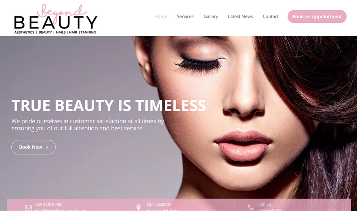 Beyond Beauty Website