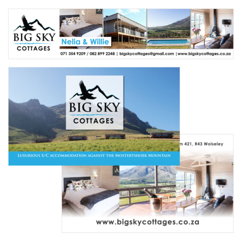 Big Sky Cottages Corporate ID