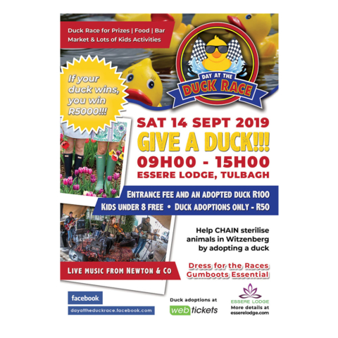 Day at the Duck Race Flyer
