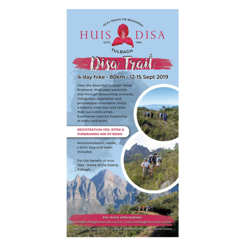 Huis Disa Trail Flyer