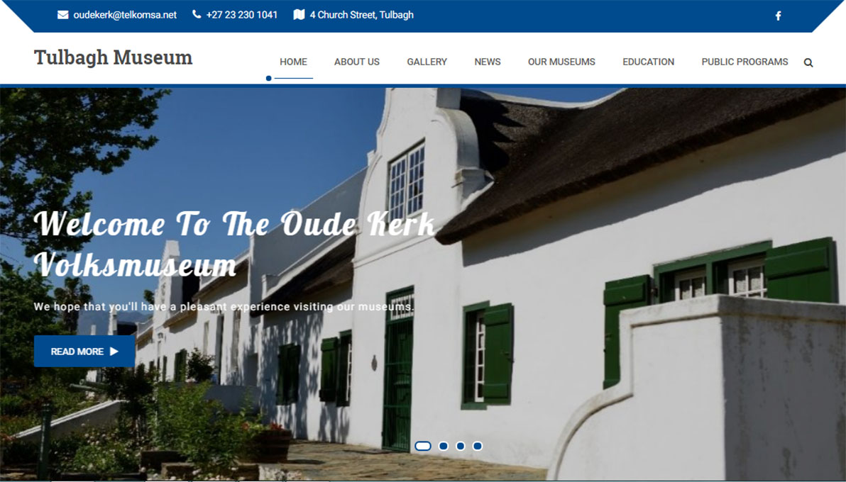 Tulbagh Museum Website