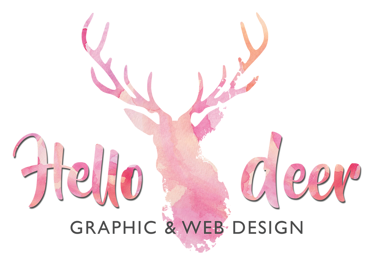 Hello Deer – Graphic & Web Design
